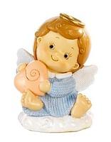 Anjel modrý so srdcom (PB15389A)