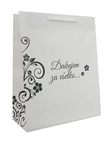 Darčeková taška: Ďakujem za všetko...