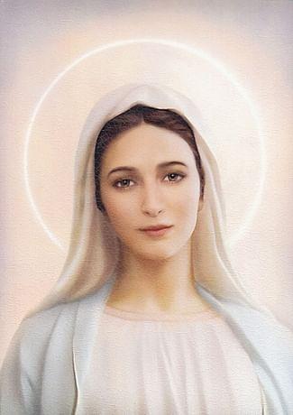 Obraz na dreve: Panna Mária Medžugorska (30x20)
