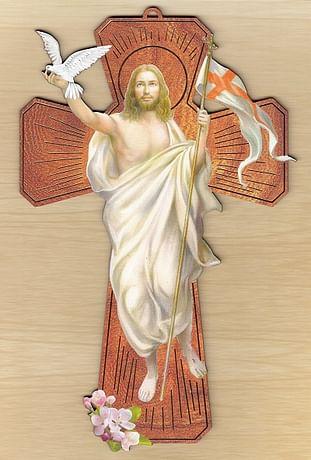 Kríž: Zmŕtvychvstalý Kristus (PROT23cross)