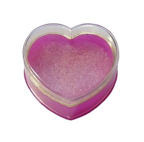 Krabička: na ruženec, plastová - ružová (KRZ005)
