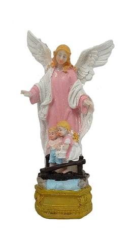 Soška: Anjel strážny - 15 cm (4056)