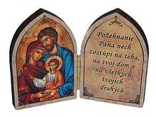 Oltárik: Sv. rodina - ikona (22/120)