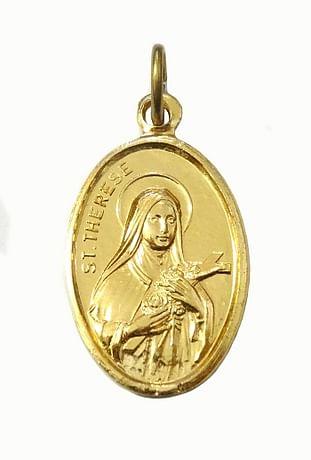 Medailón: sv. Terézia (MEZ005z)