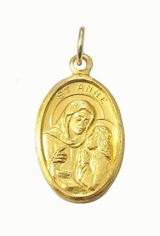 Medailón: sv. Anna (MEZ005z)