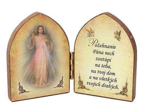 Oltárik: Božie milosrdenstvo (7,5CM-11f.)