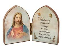 Oltárik: Srdce Pána Ježiša (7,5CM-10)