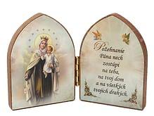 Oltárik: Panna Mária Škapuliarská (7,5CM-09)