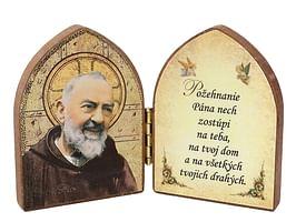Oltárik: Páter Pio (7,5CM-06)
