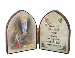 Oltárik: Panna Mária - Lurdy (5,5CM-10)