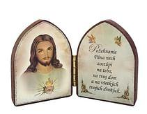 Oltárik: Srdce Pána Ježiša (5,5CM-07zl)