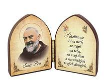 Oltárik: Páter Pio (5,5CM-03)