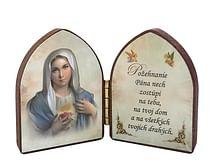 Oltárik: Srdce Panny Márie (5,5CM-01)