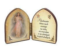 Oltárik: Božie milosrdenstvo (5,5CM-06)