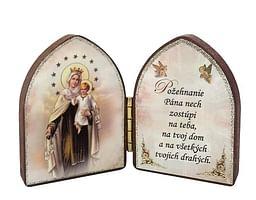 Oltárik: Panna Mária Škapuliarská (5,5CM-05)
