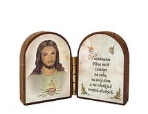 Oltárik: Srdce Pána Ježiša (4CM-13bl.)