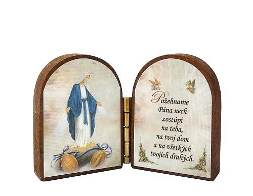 Oltárik: Panna Mária - Zázračná medaila (4CM-05)