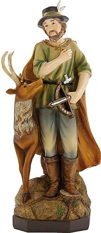 Soška: Svätý Hubert - 12 cm (H10712)