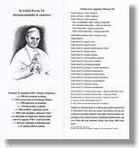 Záložka: Sv. pápež Pavol VI. + litánie