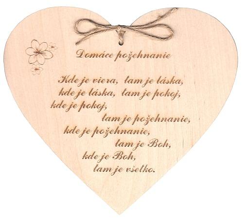 Citát na dreve: Domáce požehnanie (145)
