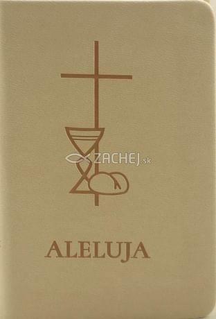 Aleluja - modlitebná kniha bežová