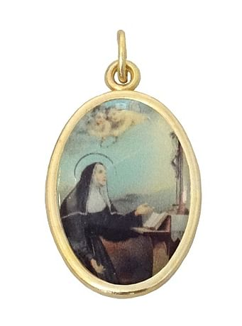 Medailón: Svätá Rita (MEZ001,zl)