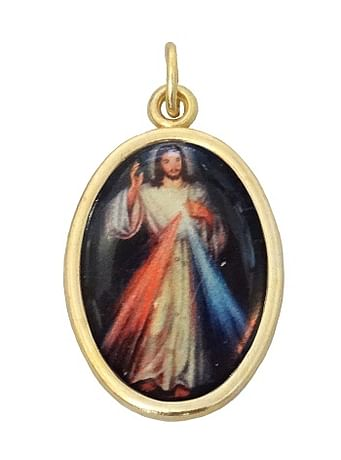 Medailón: Božie milosrdenstvo (MEZ001,zl)