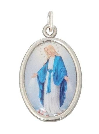 Medailón: Panna Mária Zázračná medaila  (MES001,st)