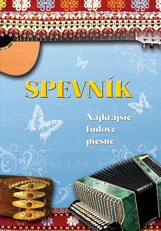 E-kniha: Spevník - Najkrajšie ľudové piesne