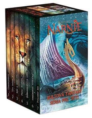 E-kniha: Kroniky Narnie (7 - dielna sada)