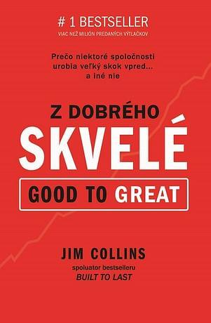 E-kniha: Z dobrého skvelé (Good to Great)