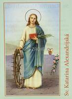 Skladačka: Sv. Katarína Alexandrijská (JH)