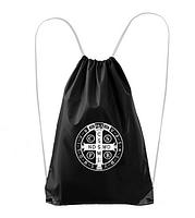 Vak: bavlnený Benediktínsky - čierny