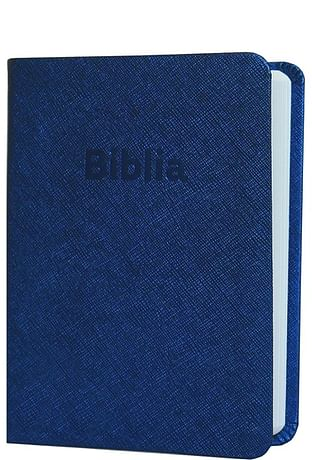 Biblia ekumenická vrecková - modrá