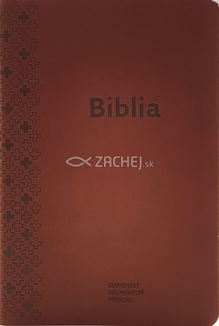 Biblia ekumenická  - hnedá (2018)