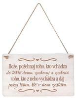 Citát na dreve: Bože, požehnaj toho... (CDZ01)