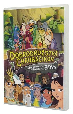3 DVD: Dobrodružstvá chrobáčikov