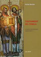 Testament sv. Cyrila