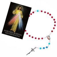 Sada: ruženec Božie Milosrdenstvo s obrázkom (R996+Z027)