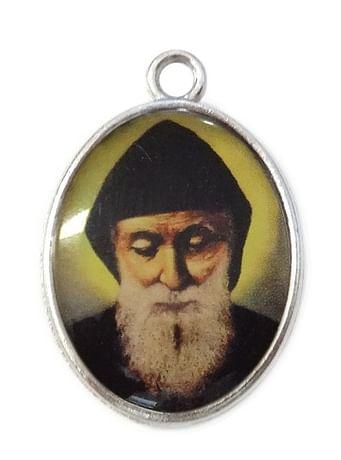 Medailón: sv. Charbel (MES005s -veľký)