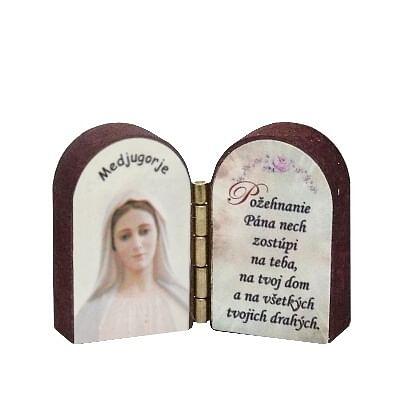 Oltárik: Panna Mária Medžugorská (3CM-17)