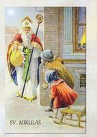 Skladačka: Sv. Mikuláš - so životopisom (LV38)