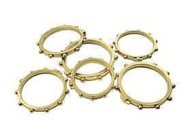 Prsteň: ruženec - kovový (1101-20 - D)