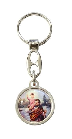 Kľúčenka: Sv. Krištof (100/B168)