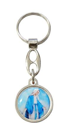 Kľúčenka: Panna Mária Zázračná medaila (100/B168)
