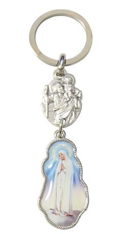 Kľúčenka: Panna Mária Fatimská (100/5923)