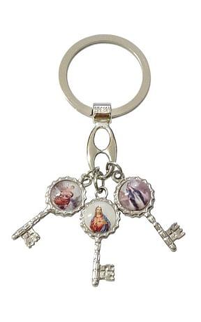 Kľúčenka: kľúče, kovová (100/A575)