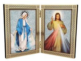Oltárik: Božie milosrdenstvo + Zázračná medaila (22/175)