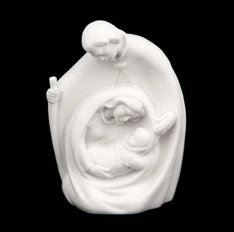 Svätá rodina: alabaster (216)
