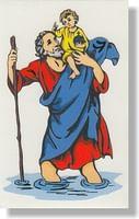 Samolepka: Sv. Krištof (B)